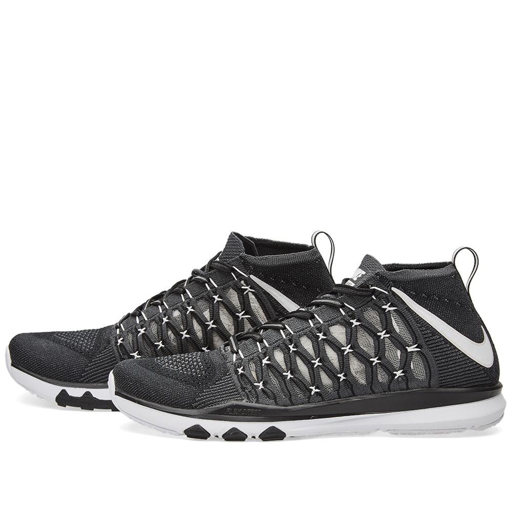 2fc950e1761b Nike Train Ultrafast Flyknit Black   White