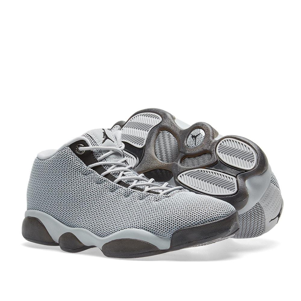 big sale a7240 cc148 Nike Air Jordan Horizon Low. Wolf Grey   Black