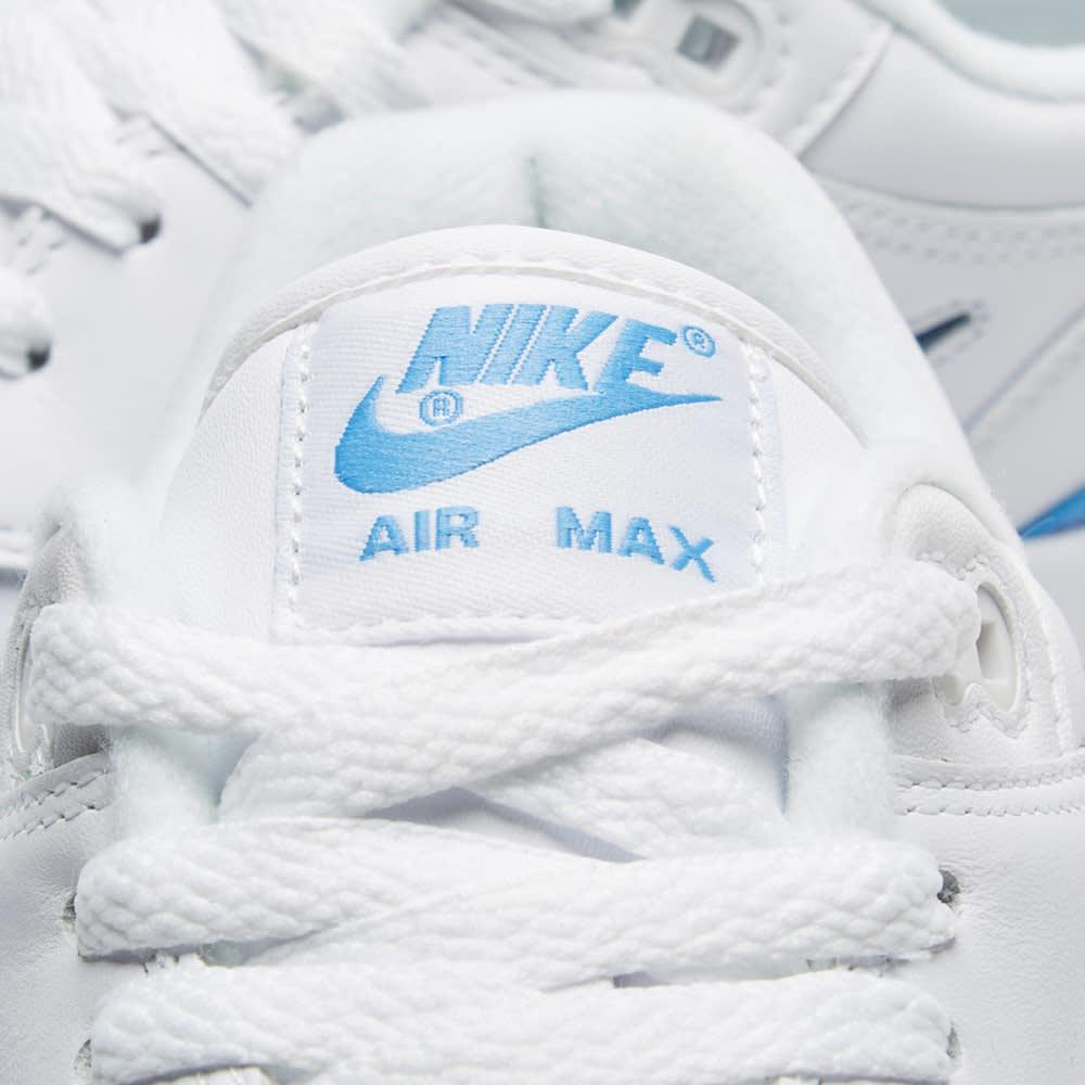 premium selection d4983 9108f Nike Air Max 1 Premium SC White   University Blue   END.