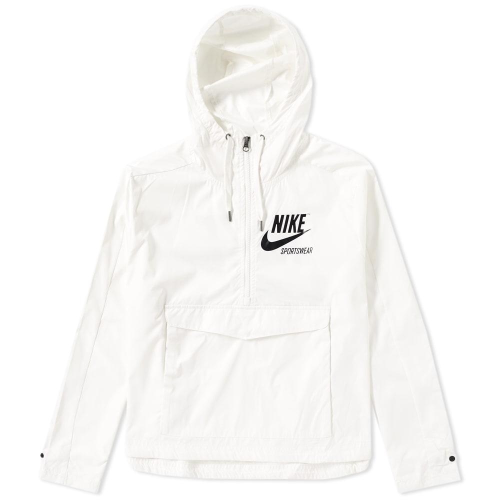 d003fc08b034 Nike Archive Pullover Jacket W Sail   Black