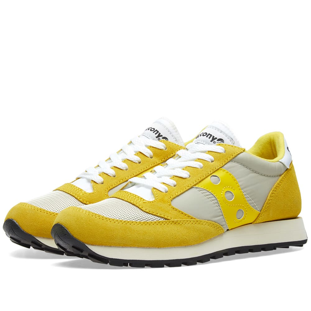 wholesale sales where can i buy wholesale Saucony Jazz Original Vintage Yellow & White | END.