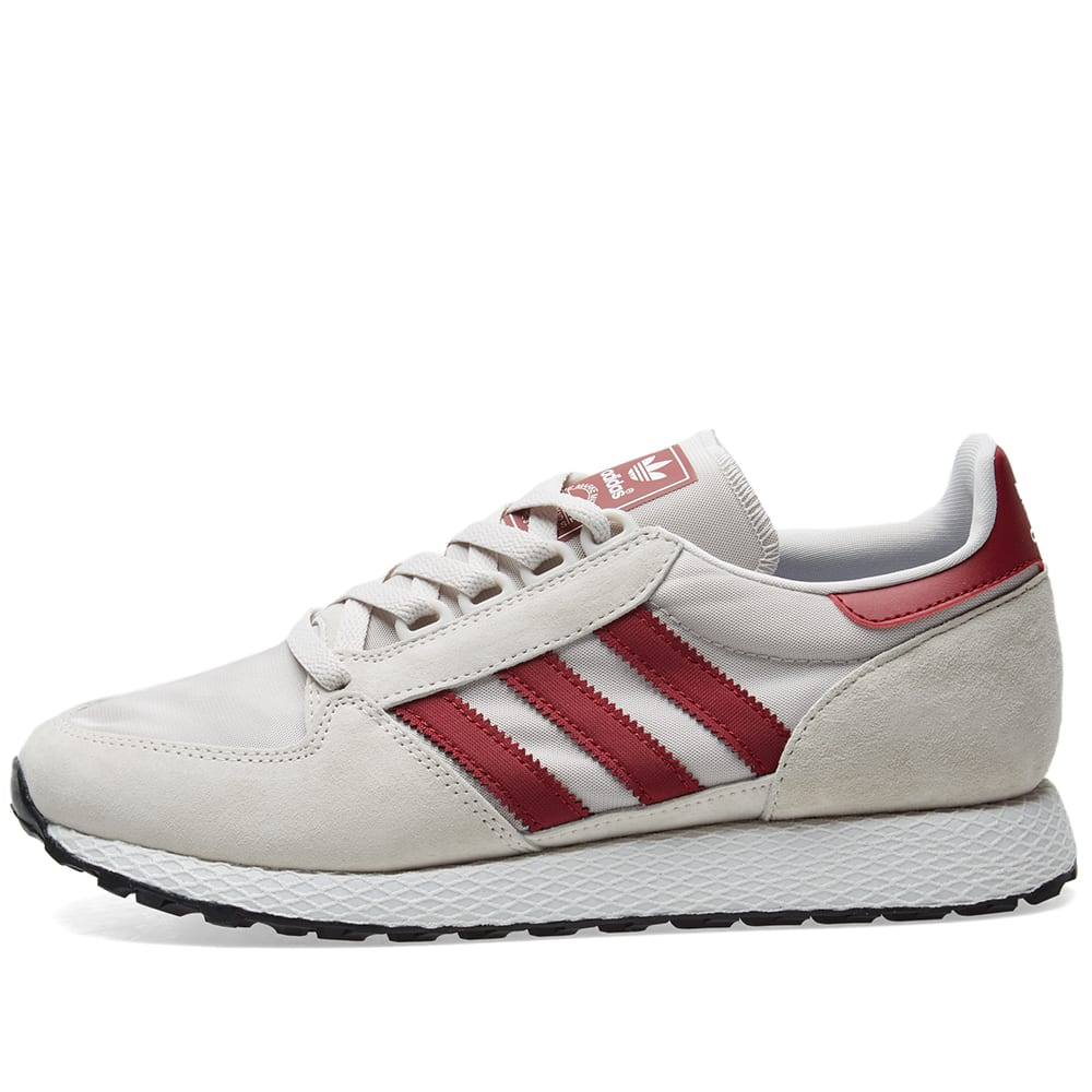 Adidas Forest Grove Chalk Pearl, White