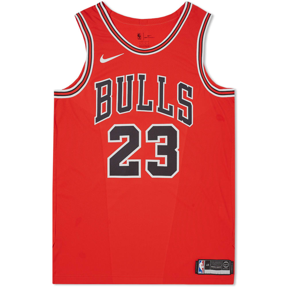 e54a17821507 Nike Michael Jordan Icon Edition Authentic Jersey University Red