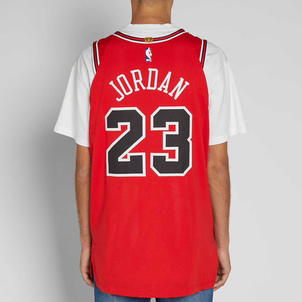 purchase cheap 9c167 4d962 Nike Michael Jordan Icon Edition Authentic Jersey