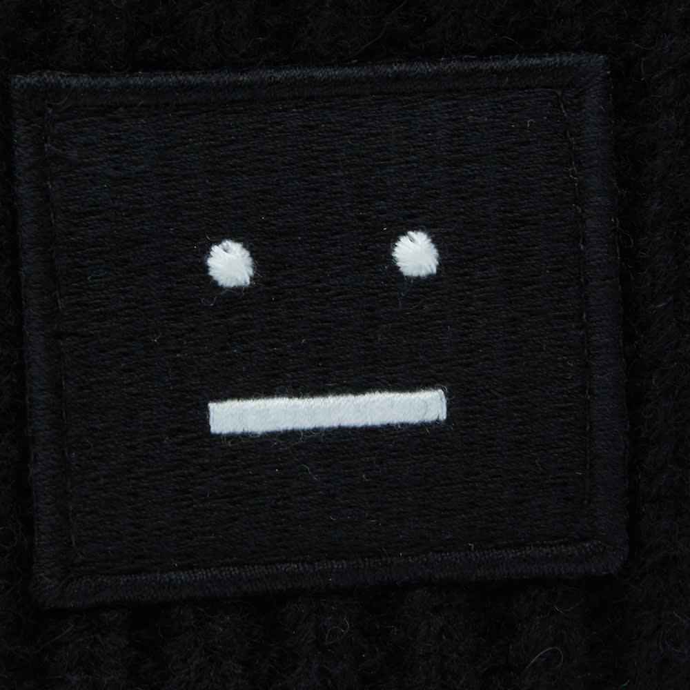 7f9fbf2ab0c Acne Studios Pansy Wool Beanie Black