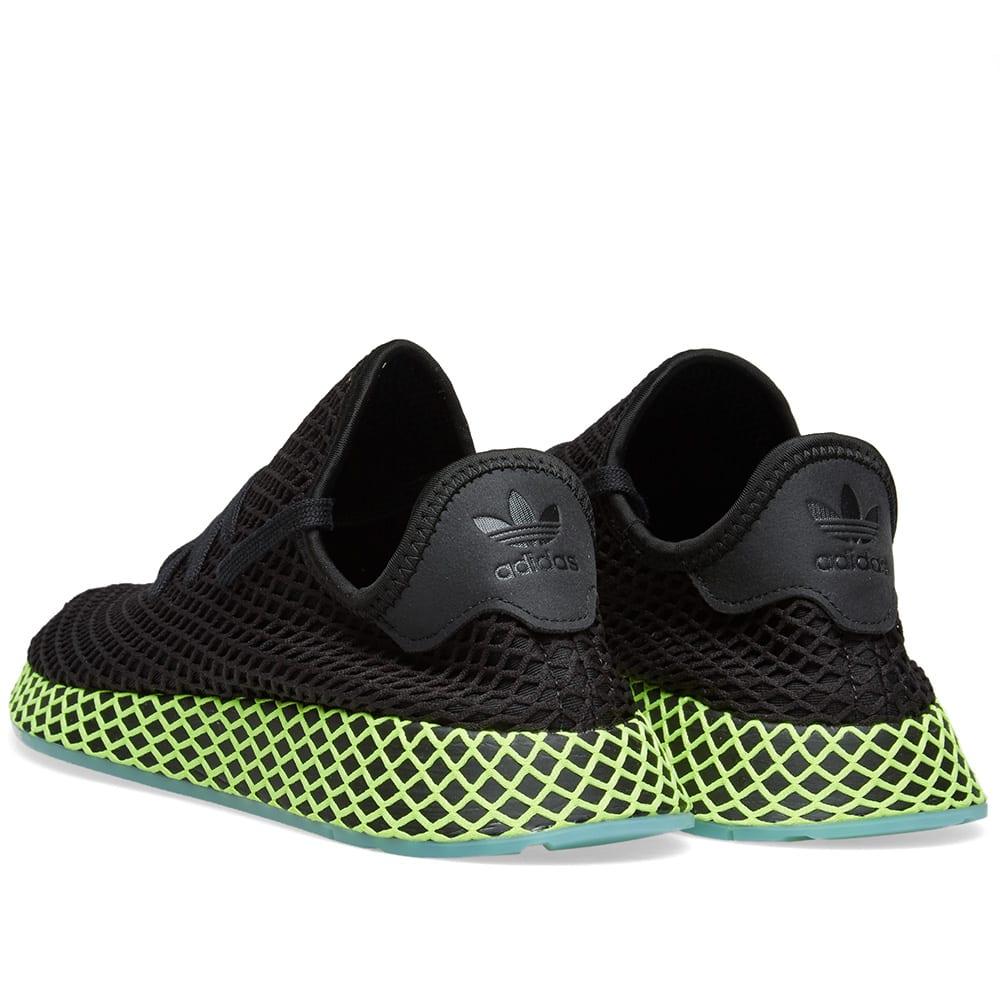 adidas Deerupt Runner J W shoes black