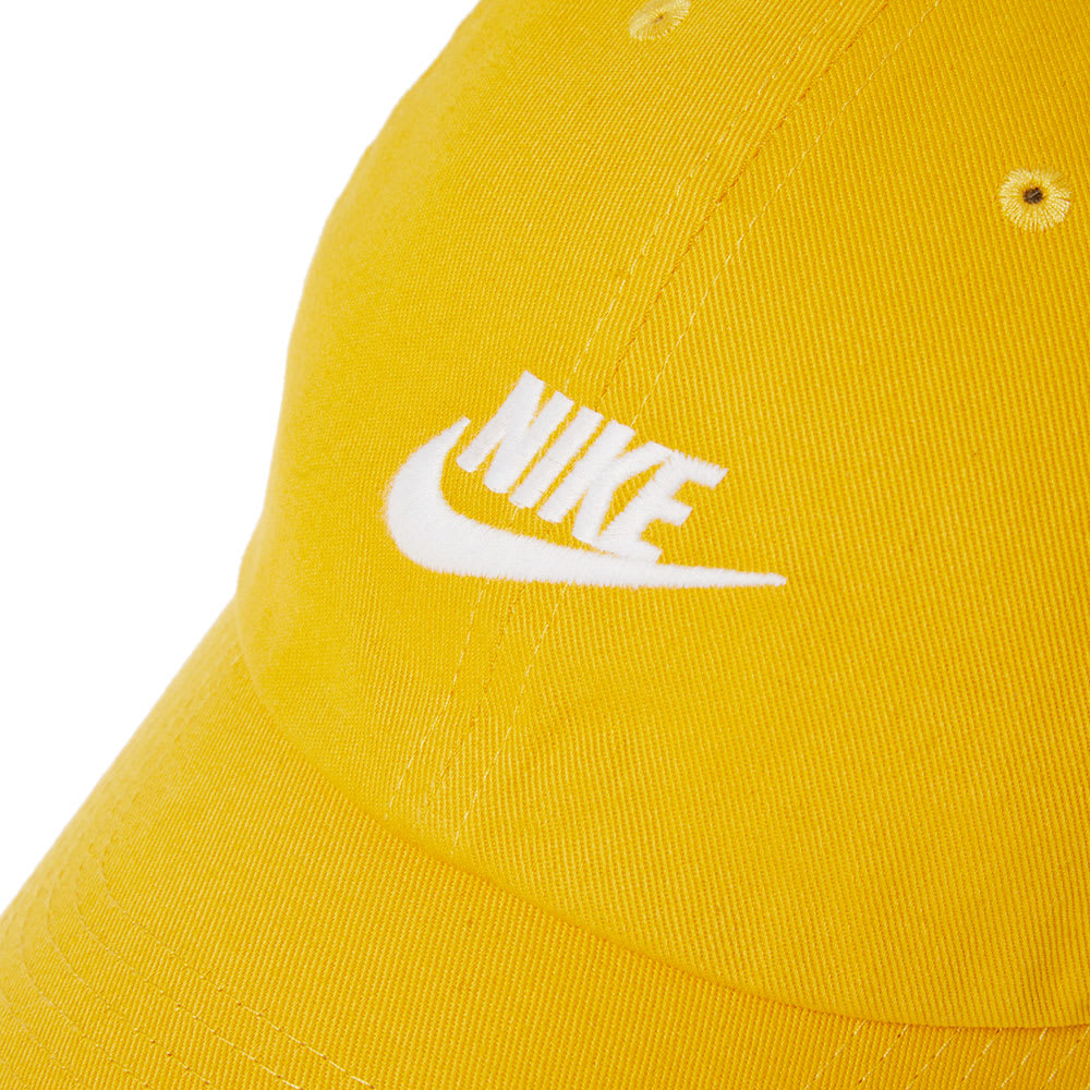 45d95c9410c Nike Futura Washed H86 Cap Yellow   White