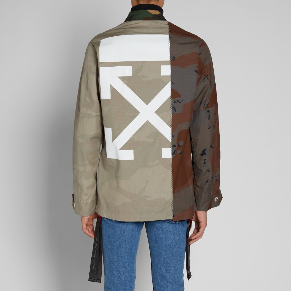 8880d2ddc85dd Off-White Reconstructed Camo Field Jacket Camo | END.