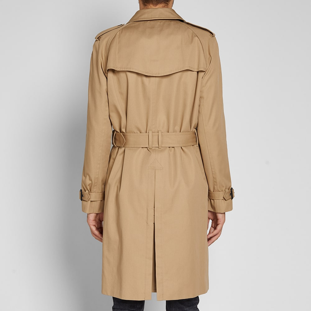 clear and distinctive limited quantity wholesale Saint Laurent Belted Trench Coat