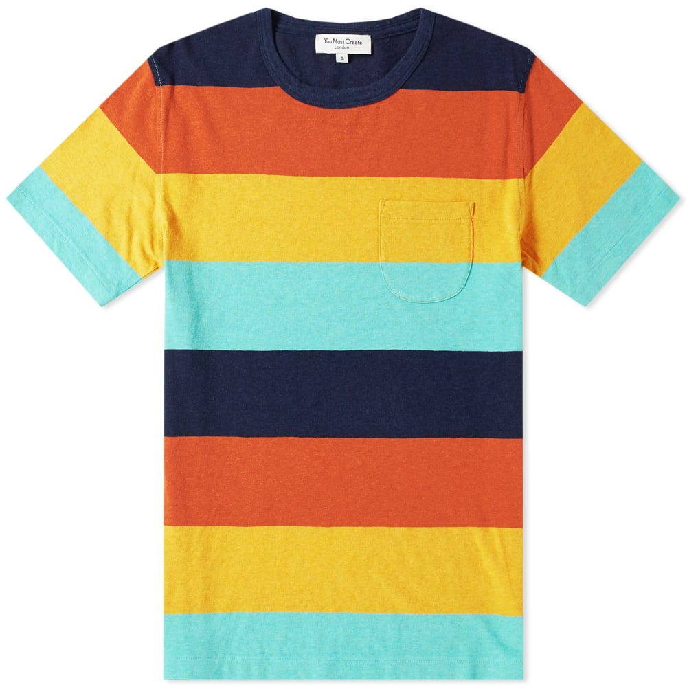 YMC YOU MUST CREATE YMC WILD ONES STRIPE TEE