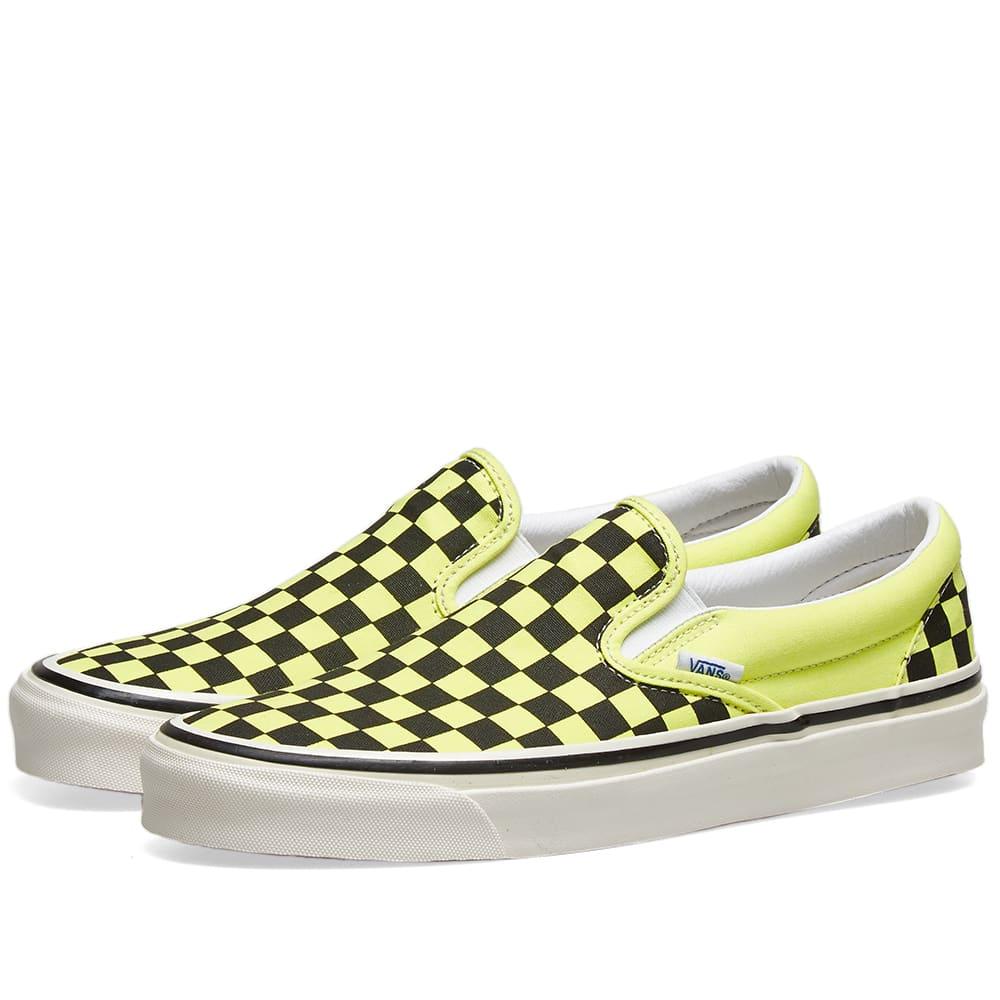 Vans Classic Slip-On 98 DX Yellow Neon