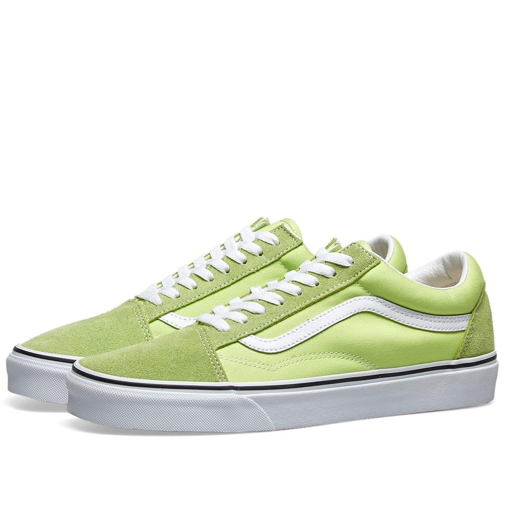 Vans Old Skool Sharp Green \u0026 White | END.