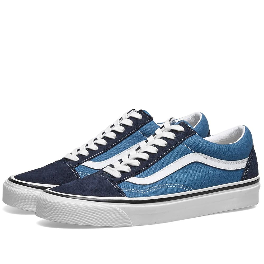 Blue | Mens Vans Ua Old Skool Dark blue