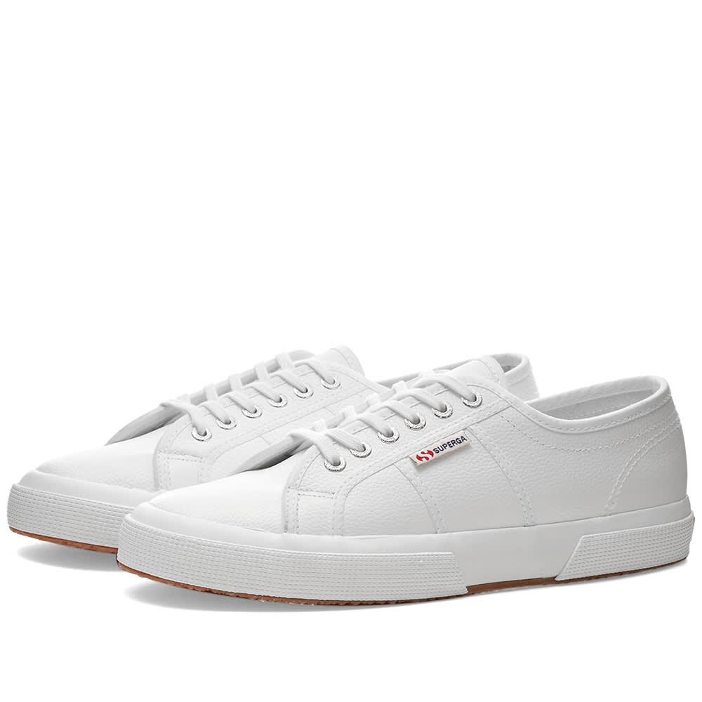 Superga 2750 EFGLU Leather White | END.