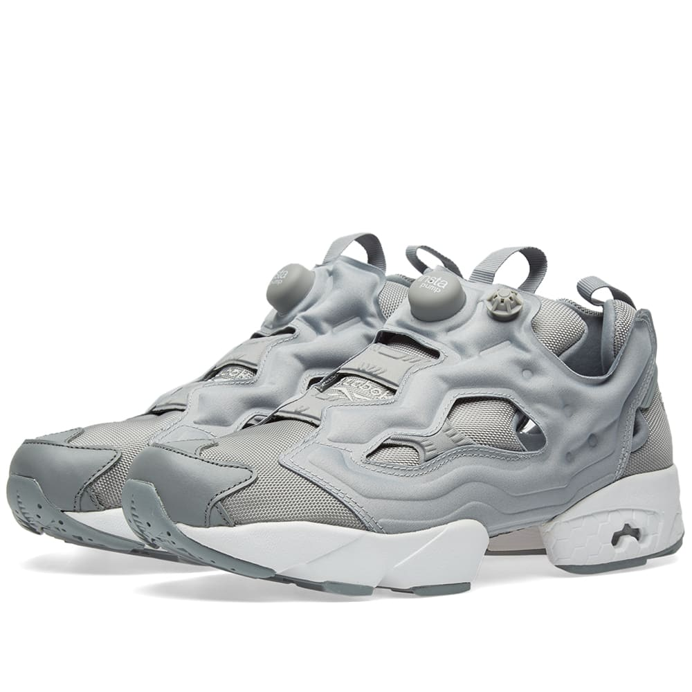 on sale 8fdb8 82602 Reebok Instapump Fury OG Grey   White   END.