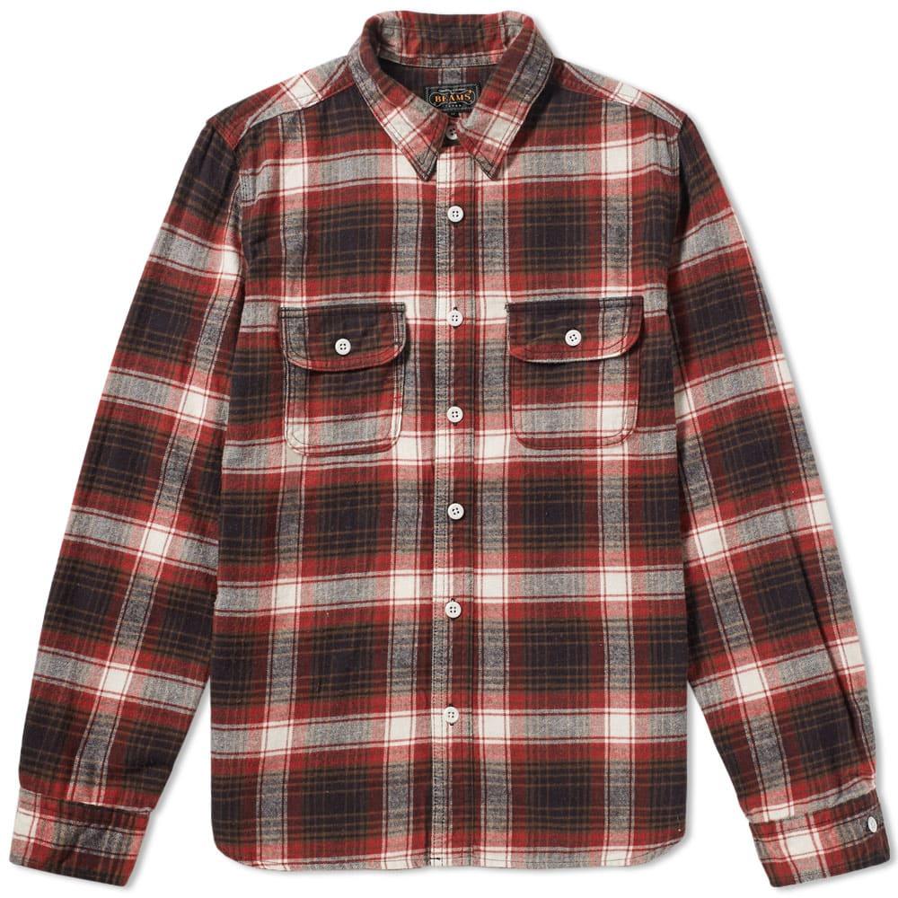 Beams Plus Flannel Work Shirt