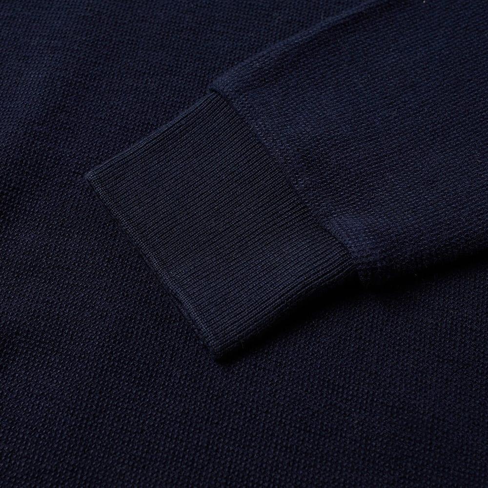 Beams Plus Long Sleeve Cotton Polo