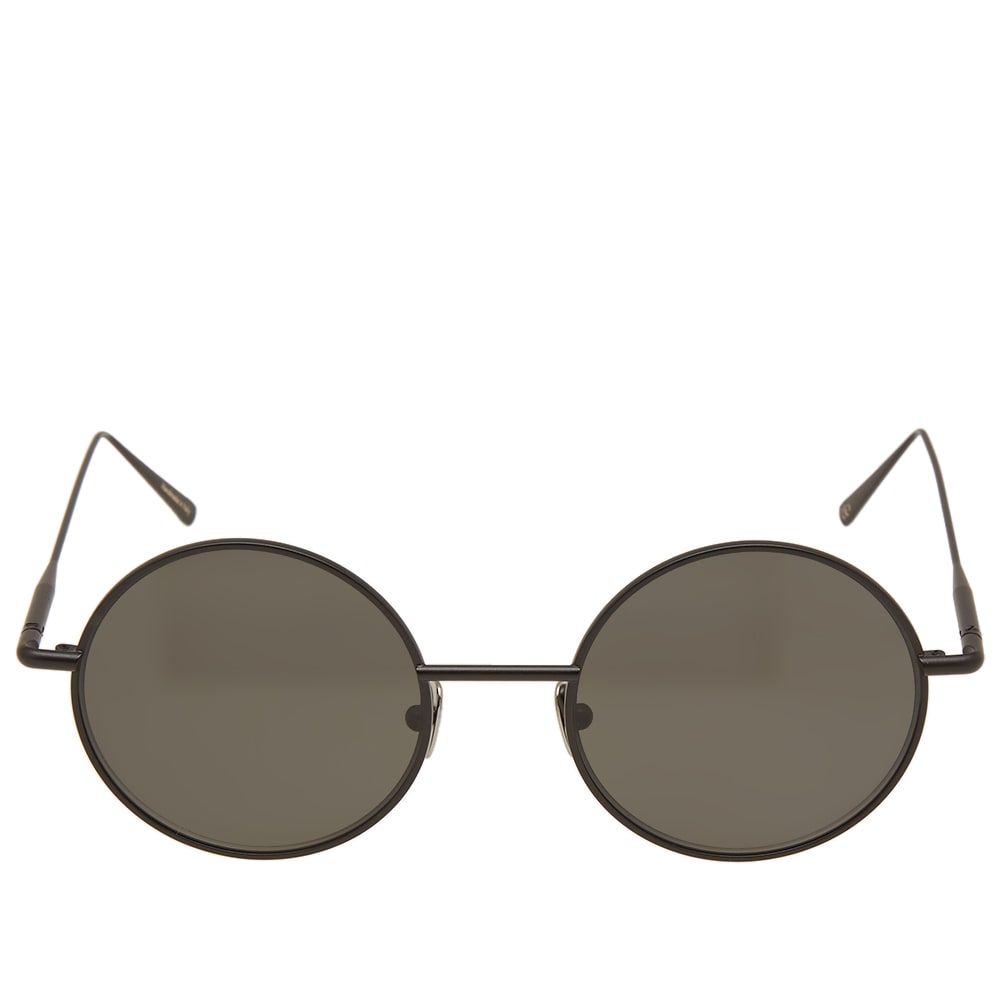 49522c2693a18 Acne Studios Scientist Sunglasses Black Satin