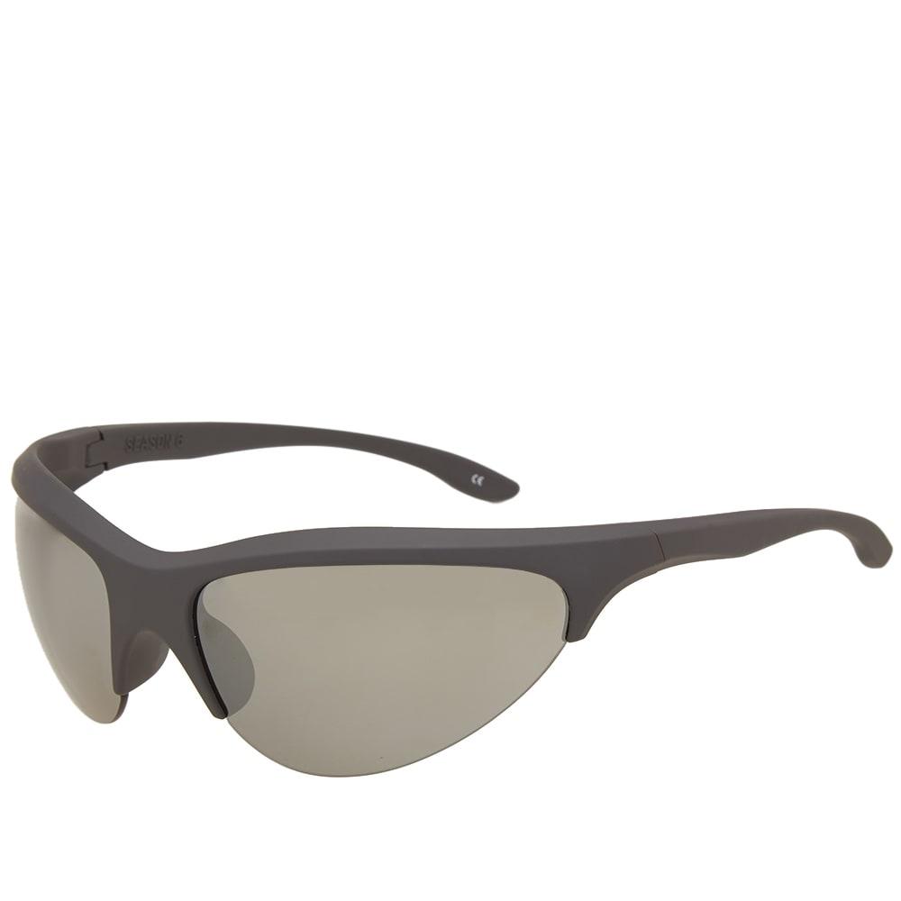 3156124f5ef4 Yeezy Season 6 Sport Sunglasses Graphite