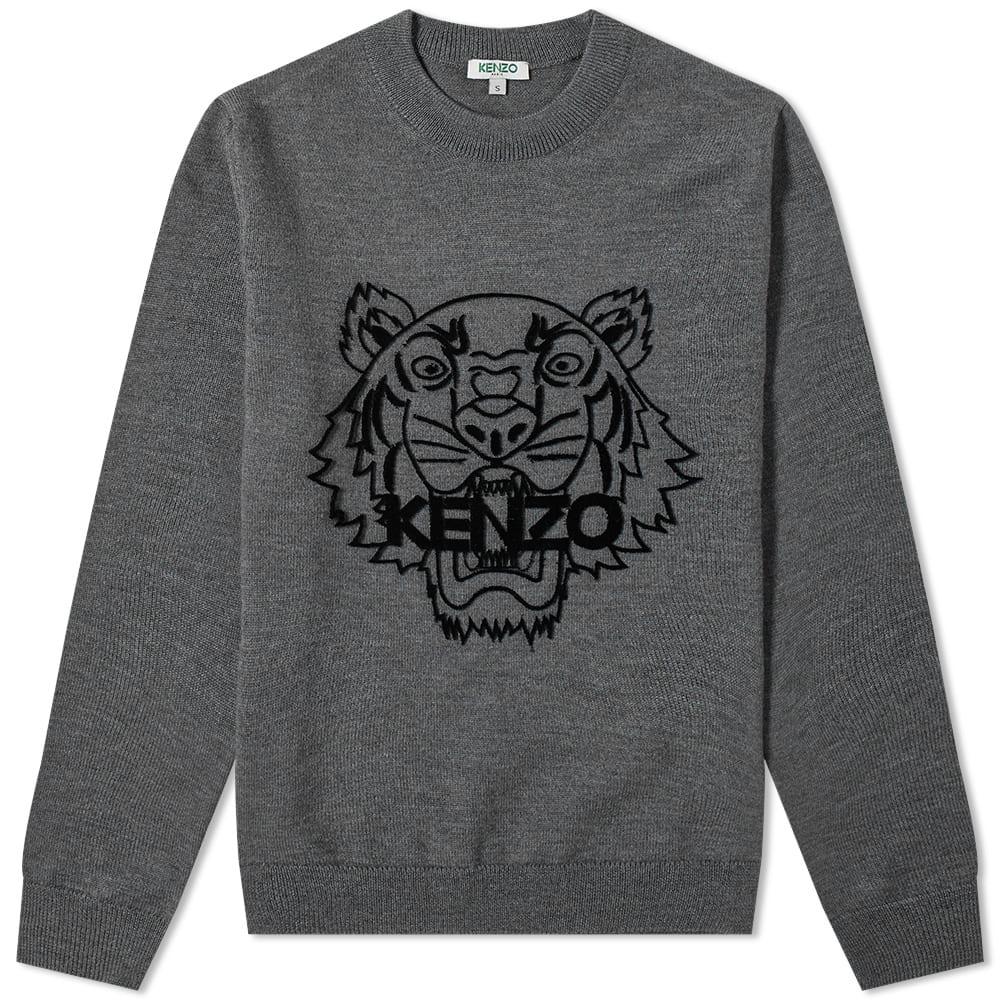 Kenzo Tiger Head Knit by Kenzo