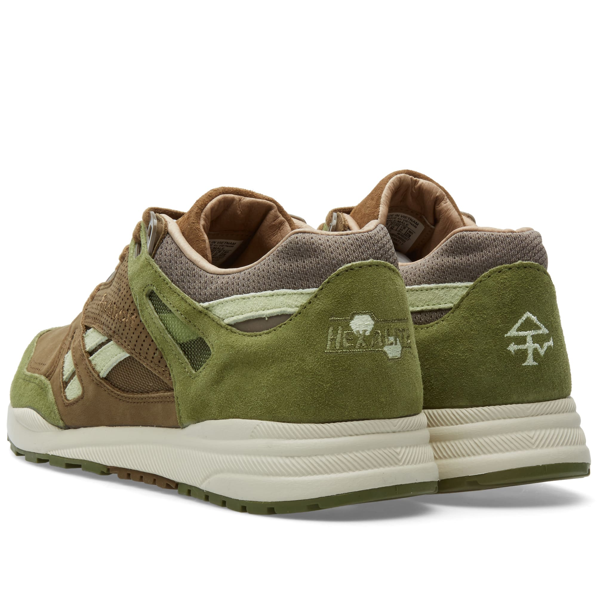 38be676a1 Reebok x Limited Edt Ventilator CN Washed Green   Brown