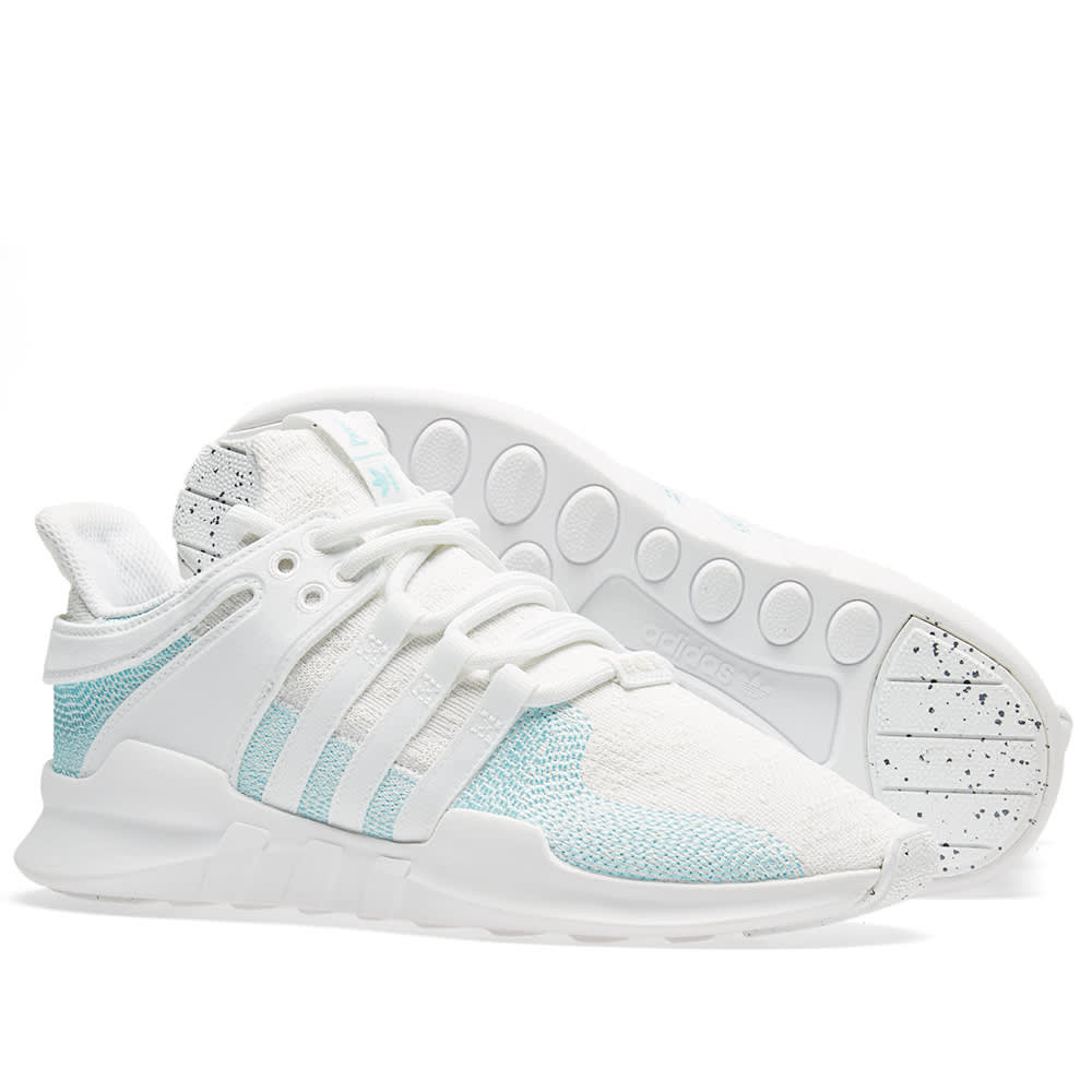442a04738 Adidas EQT Support ADV CK Parley White   Blue Spirit