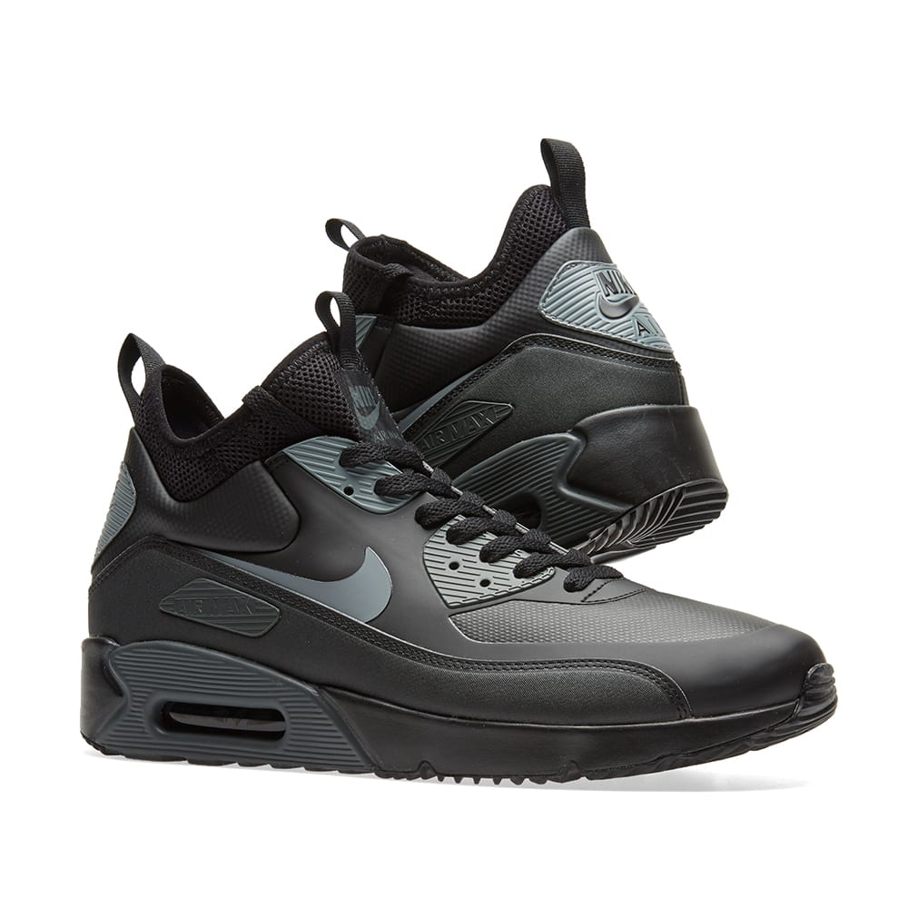 save off 45af7 c8327 Nike Air Max 90 Ultra Mid Winter. Black, Cool Grey   Anthracite