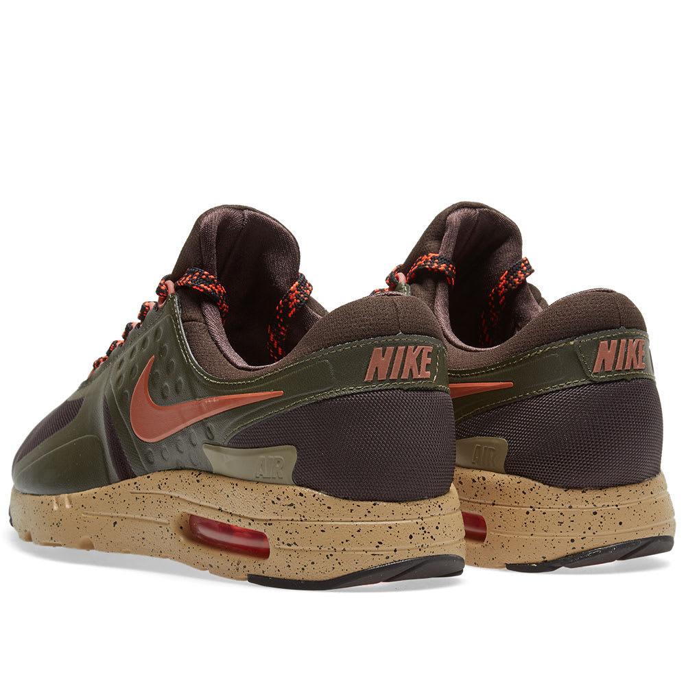Latest Nike Air Max Zero SE in Velvet Brown Dusty Peach