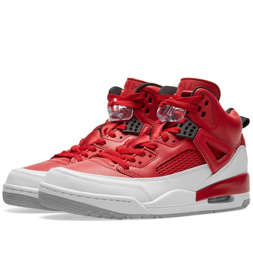 super popular d6555 4b378 Nike Jordan Spizike Gym Red, Black   White   END.