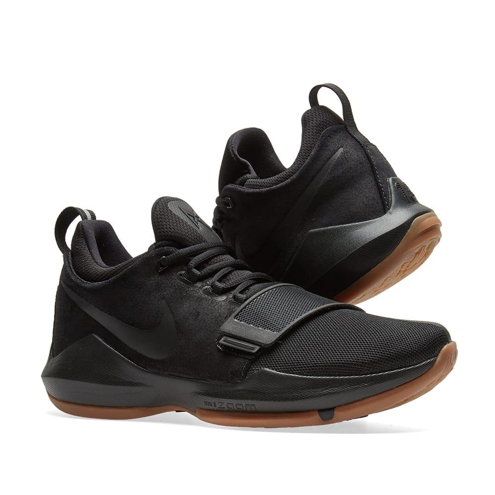 pg 1 black gum Kevin Durant shoes on sale