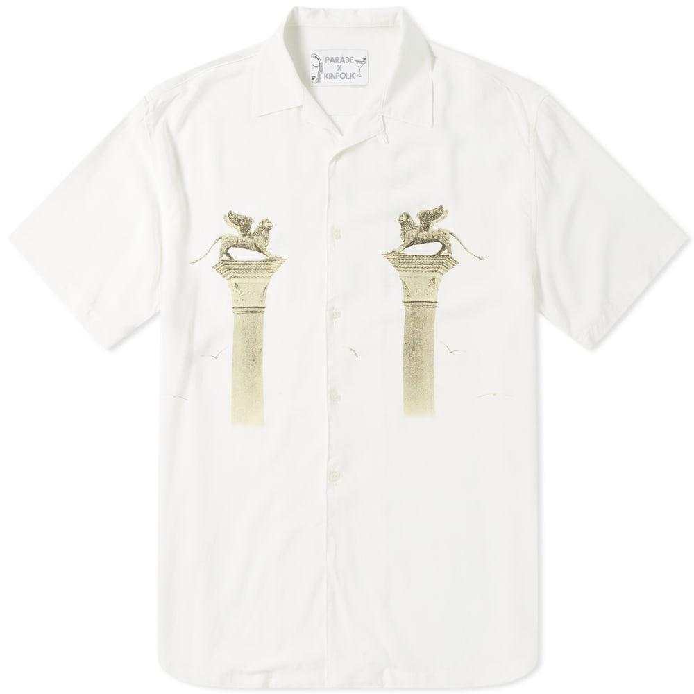 KINFOLK Kinfolk X Parade Venetian Shirt in White