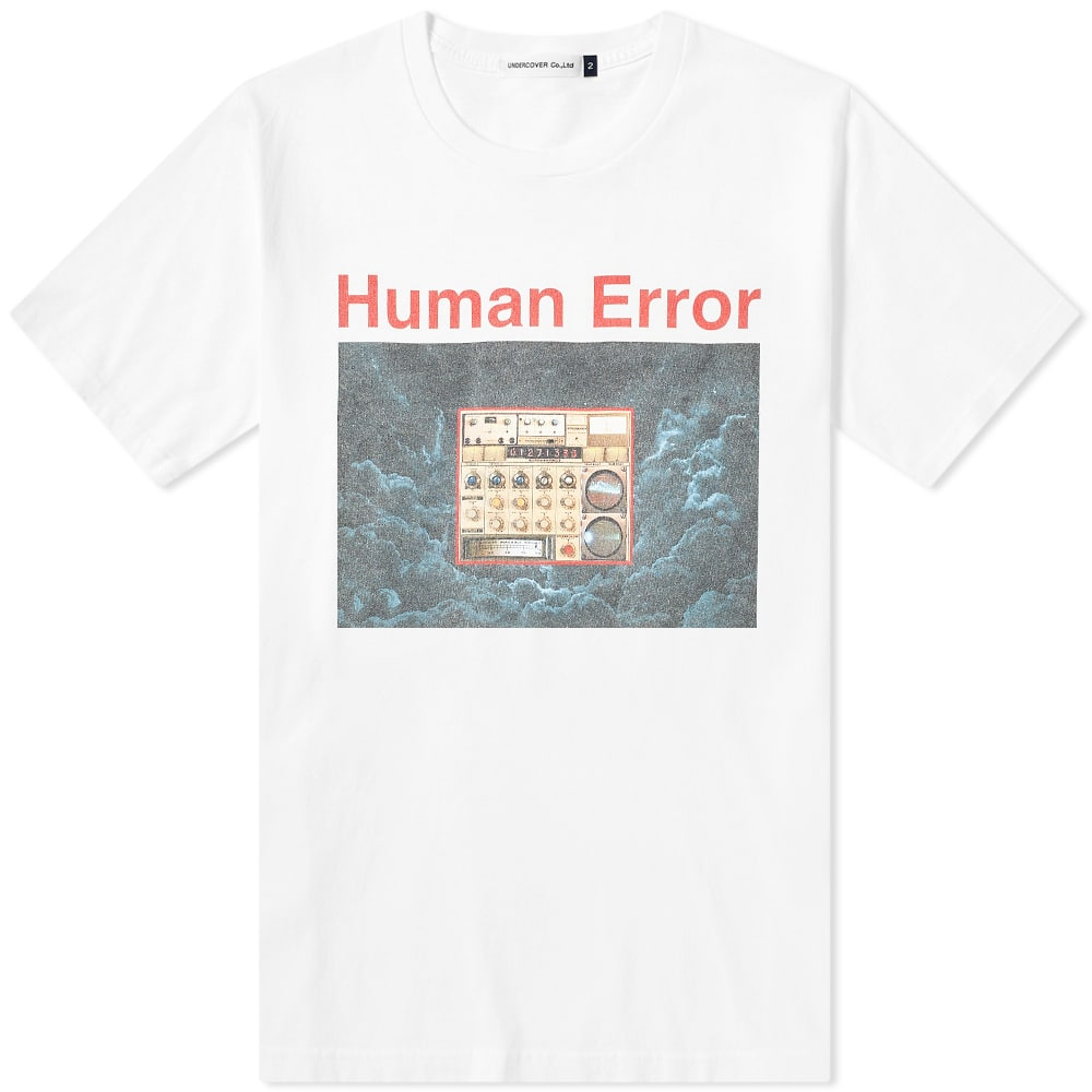 Undercover Human Error Tee by Undercover