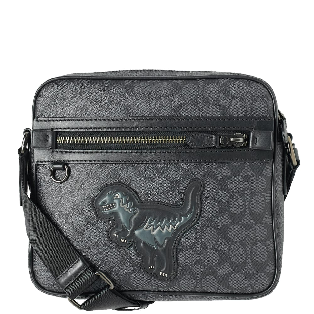 fb485934b Coach Rexy Signature Dylan Mini Messenger Bag Black | END.