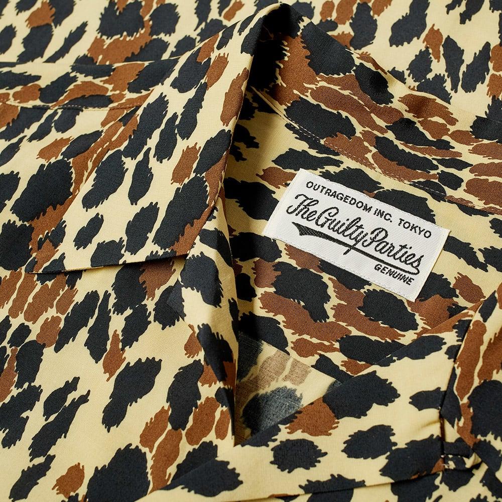 4d9be6f6 Wacko Maria Leopard Hawaiian Shirt Black | END.