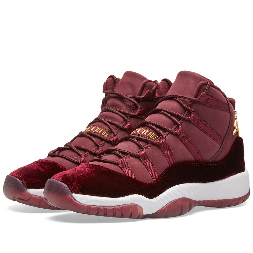 nike air jordan 11 retro gg night maroon metallic gold. Black Bedroom Furniture Sets. Home Design Ideas