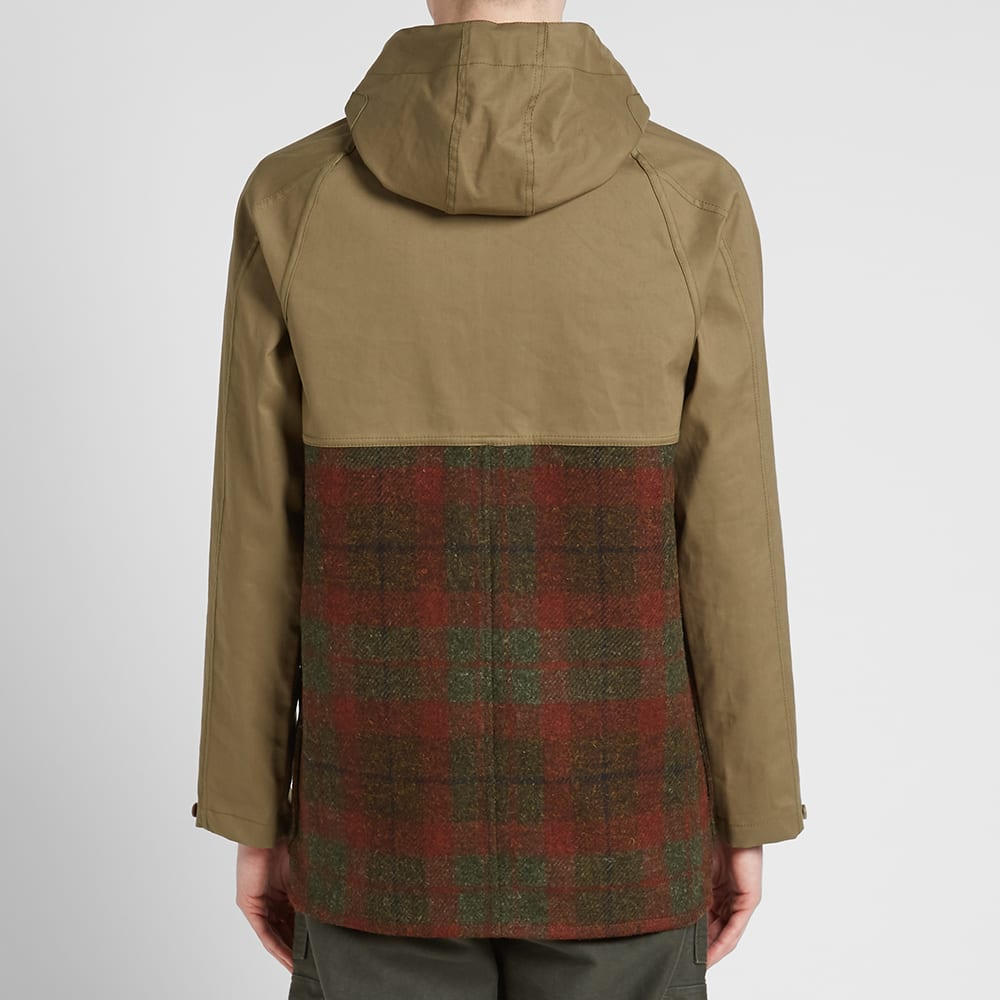 9de923b31eb4 Nigel Cabourn Cameraman Extension Jacket Army Check