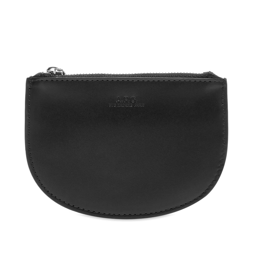 A.P.C. Half Moon Zip Coin Wallet