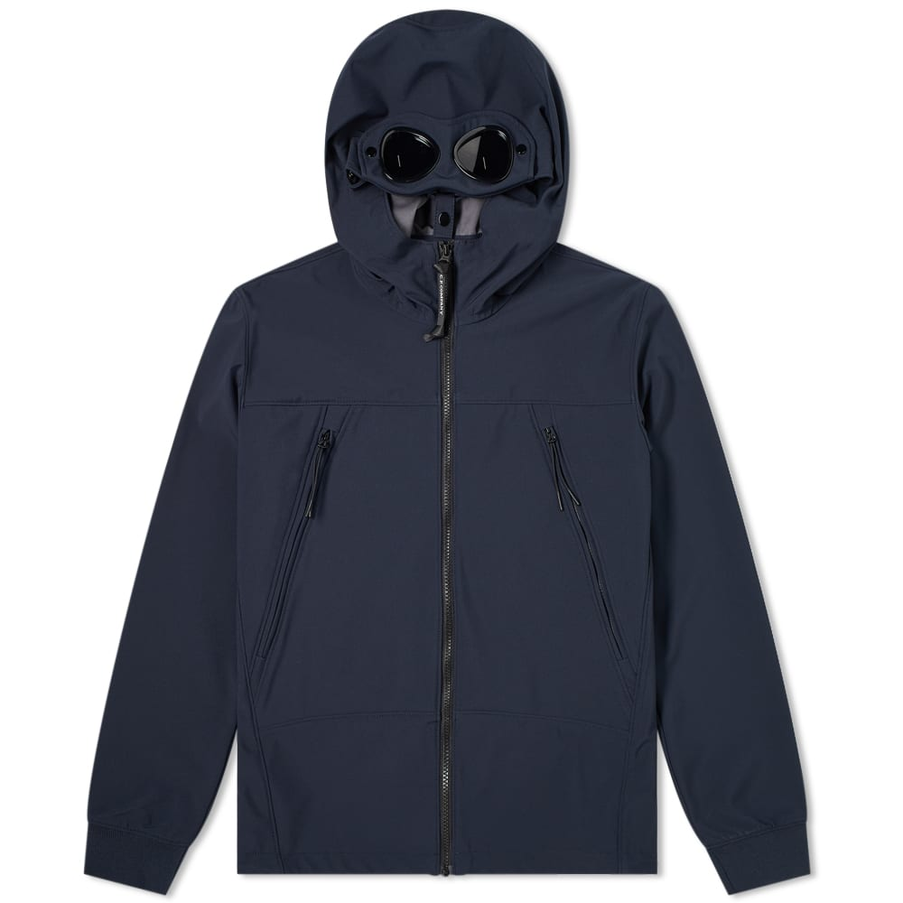 C.P. Company Undersixteen Hooded Soft Shell Goggle Jacket