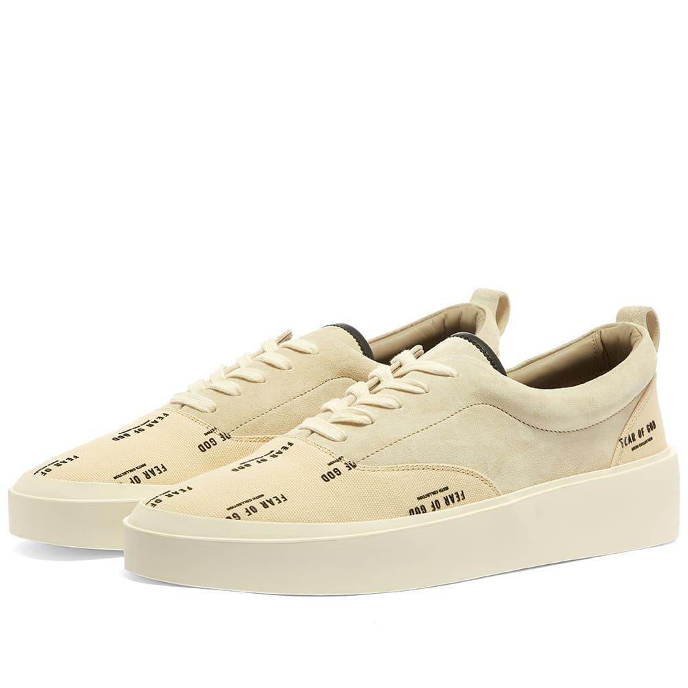 Fear of God 101 Lace Up Sneaker Bone