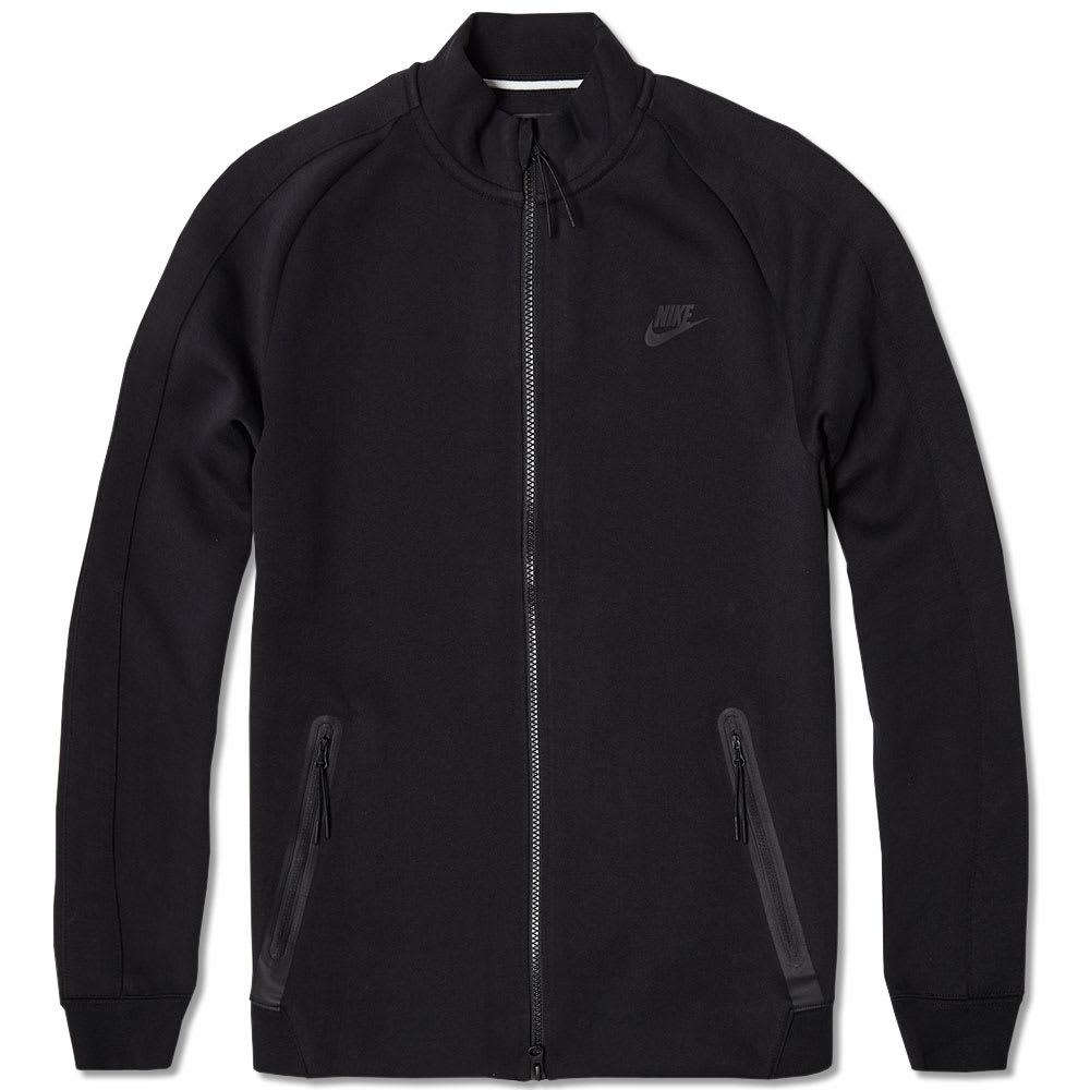 nike tech n98 fleece jacket black. Black Bedroom Furniture Sets. Home Design Ideas