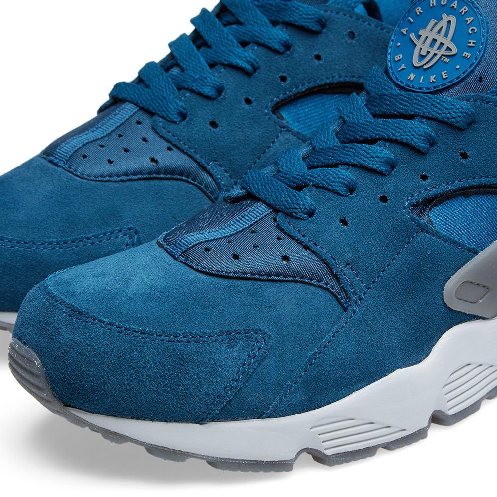 buy online 7421f 3bb2e Nike Air Huarache Blue Force   Cool Grey   END.