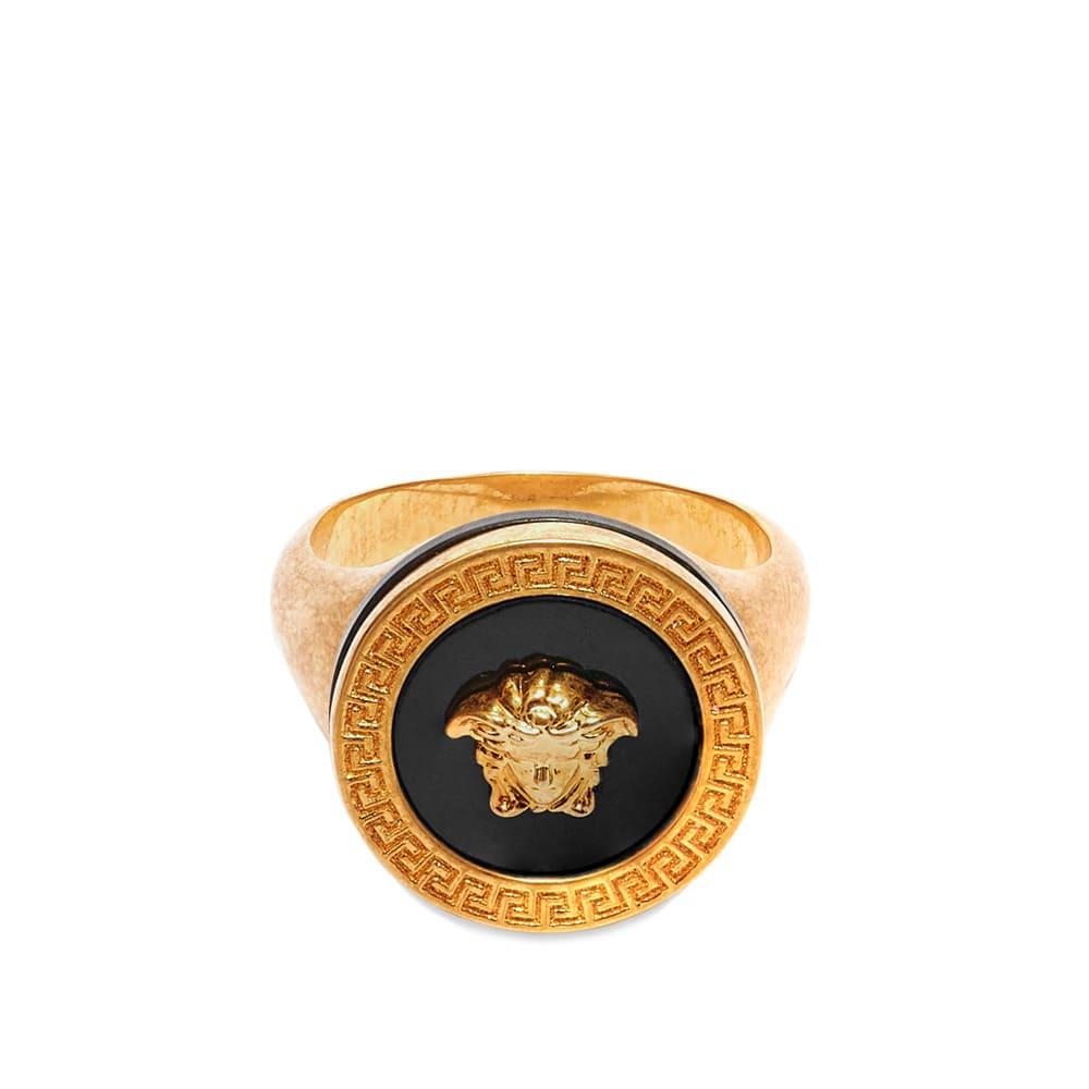 Versace Medusa Head Signet Ring