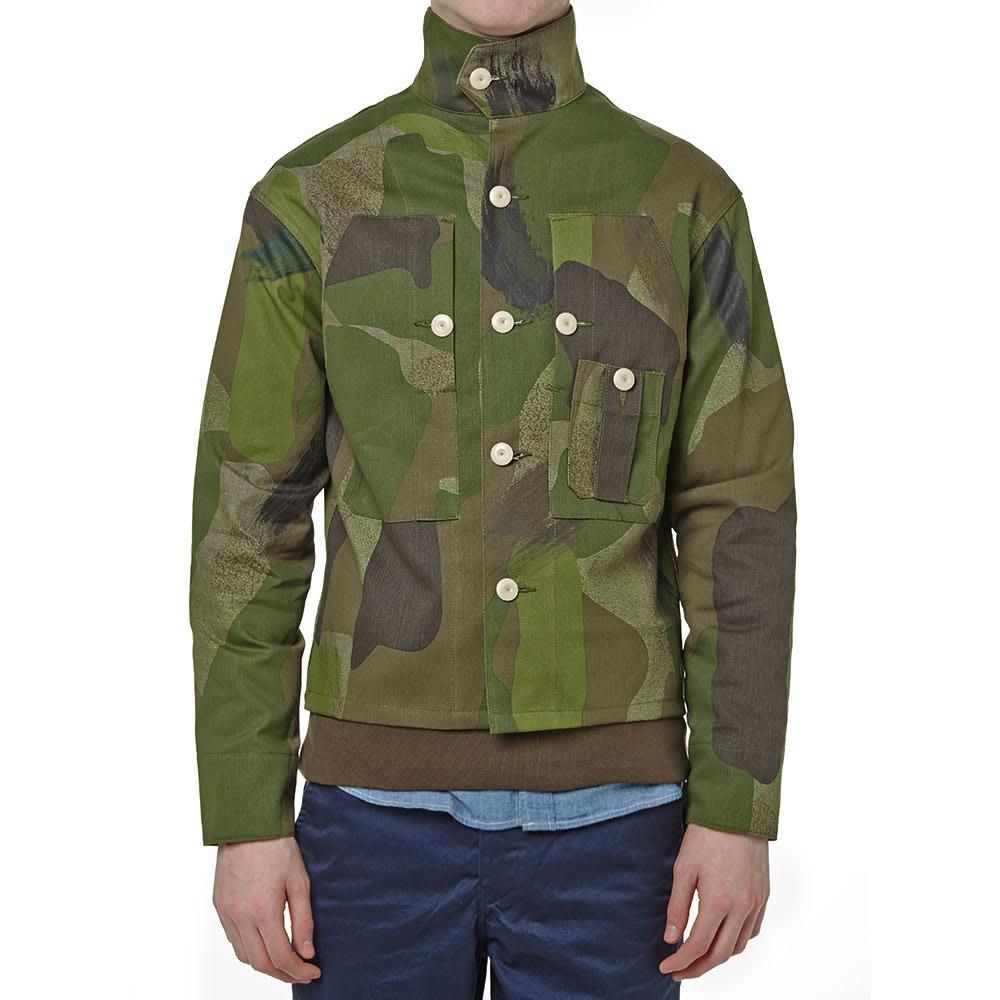 a245d8f8f49d Nigel Cabourn Classic Shirt Jacket Army Camo