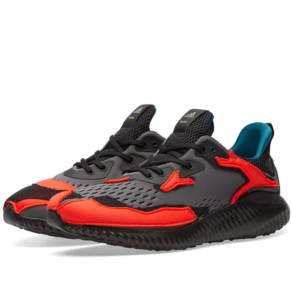 dbfbc90a1c69a Adidas x Kolor Alphabounce Red