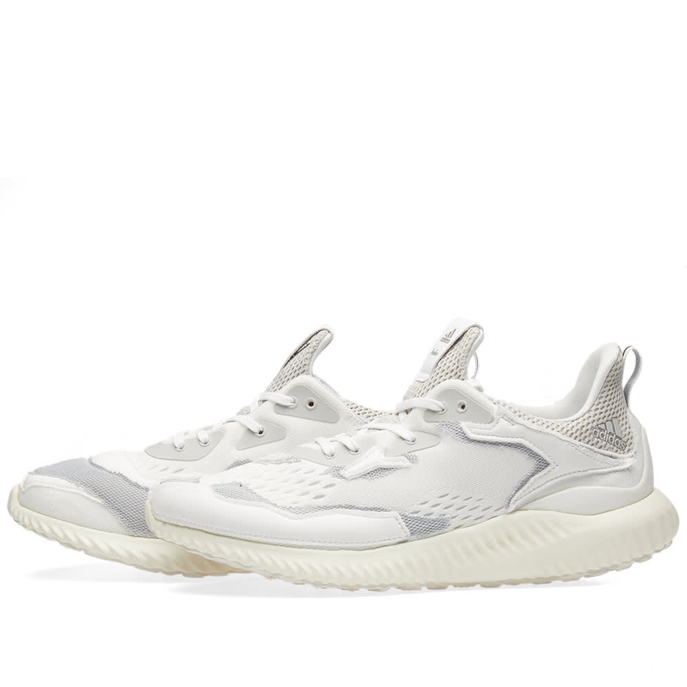 2fa6d2240 Adidas x Kolor Alphabounce White   Grey