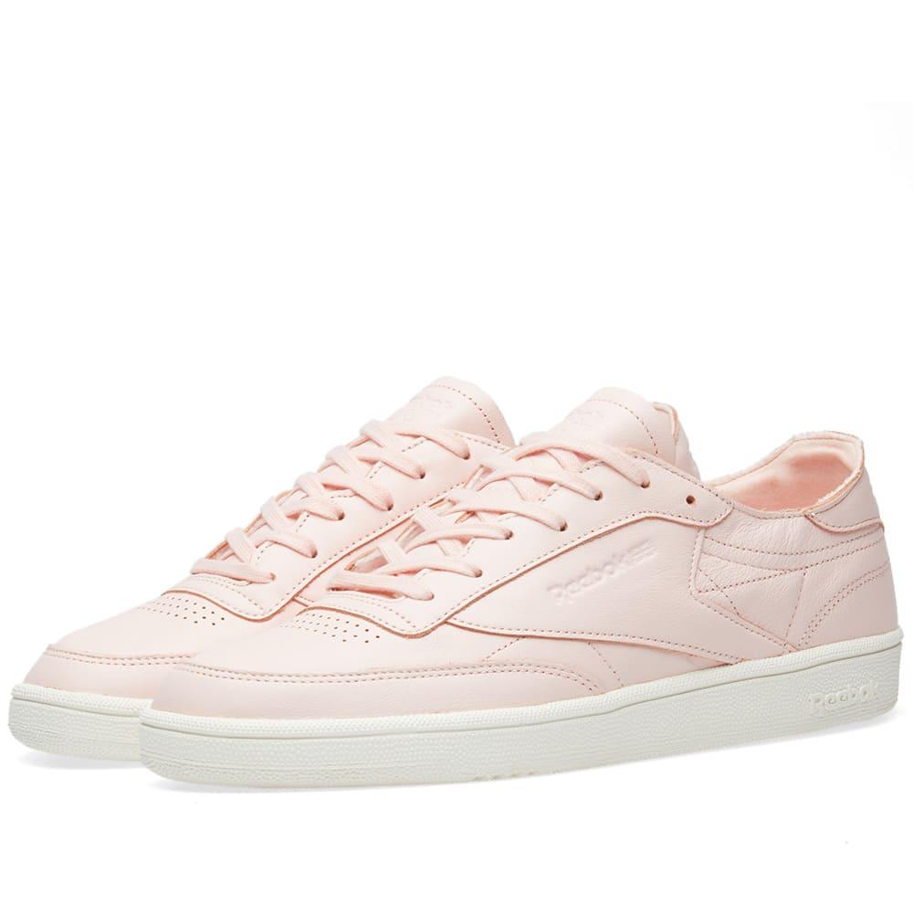 508b21b3fe0e4 Reebok Club C 85 DCN W Luna Pink   Chalk