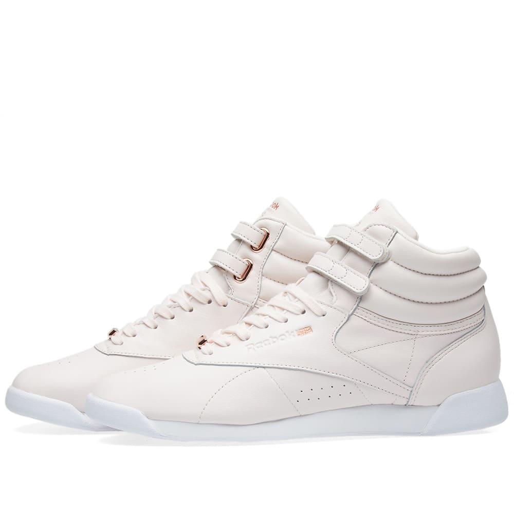 7de8c6b268308 Reebok Freestyle Hi Muted W Pale Pink