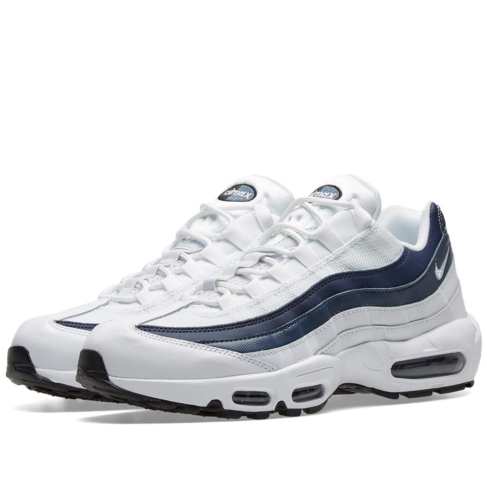 Nike Air Max 95 Essential White, Navy