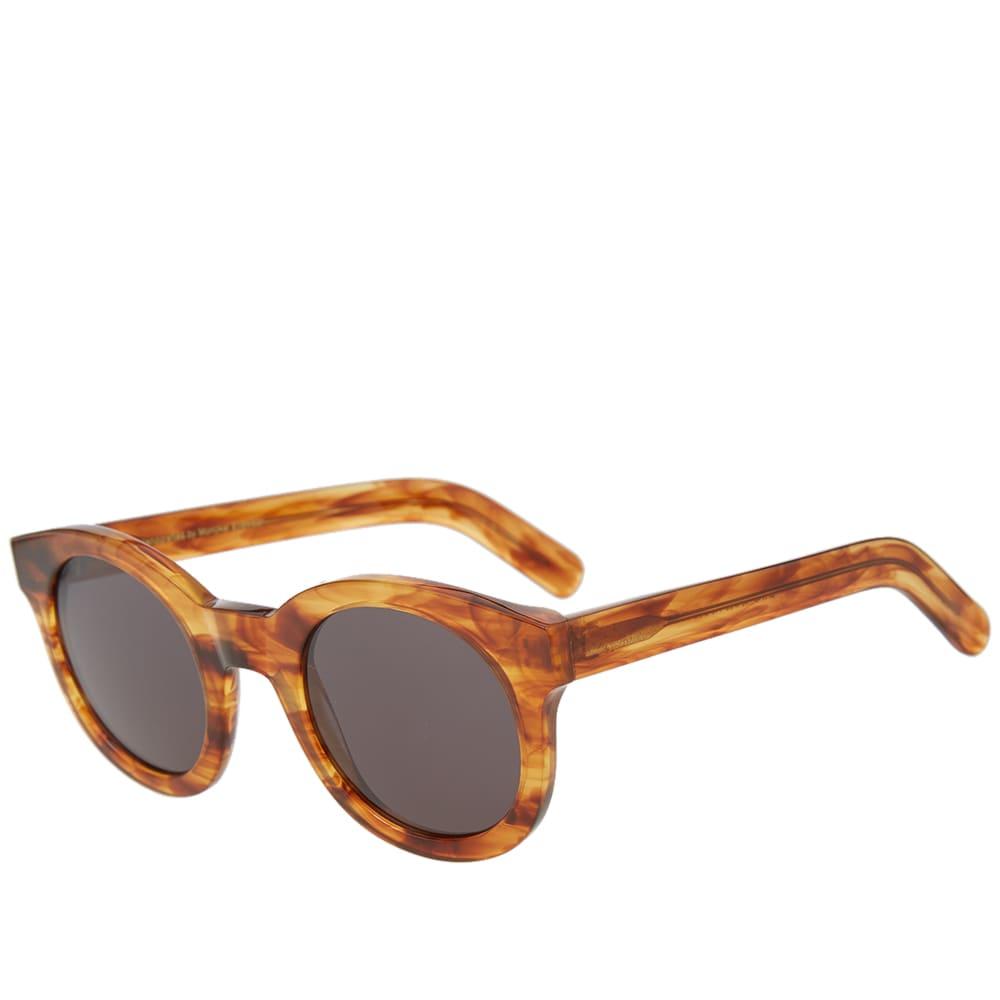 MONOKEL Monokel Shiro Sunglasses in Brown