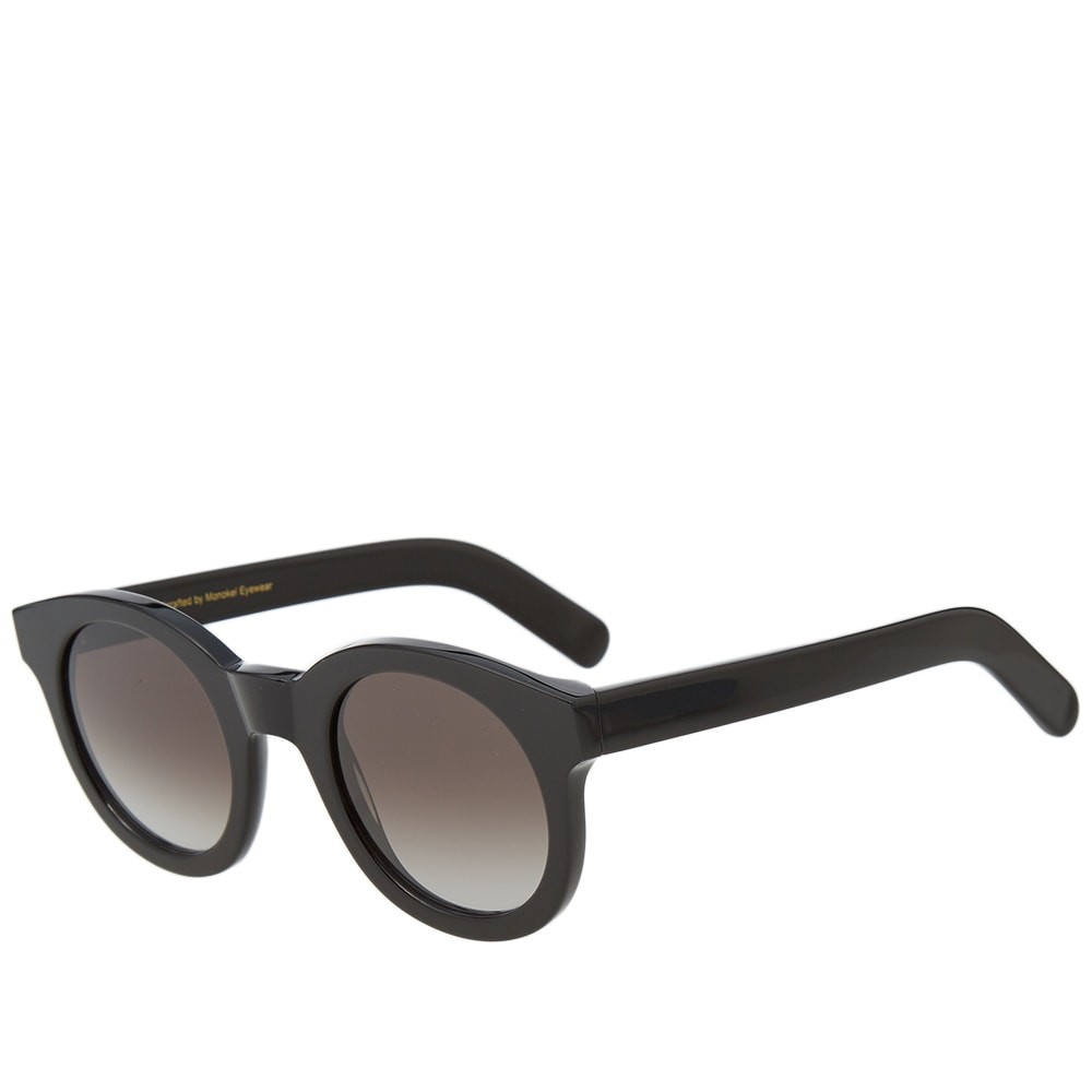 MONOKEL Monokel Shiro Sunglasses in Black